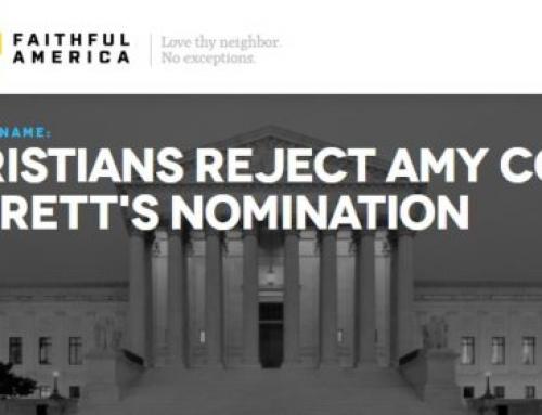 Faithful America's Faithless Attacks on Amy Coney Barrett—Courtesy of George Soros